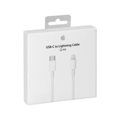 Apple USB-C to Lightning Cable (2m)  (MKQ42ZM/A)